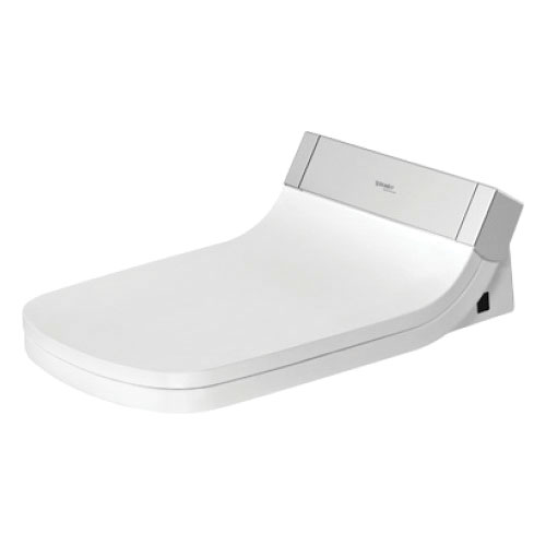 DURAVIT 610200001001300 SensoWash® Starck C Shower Toilet Seat With Concealed Connections, White