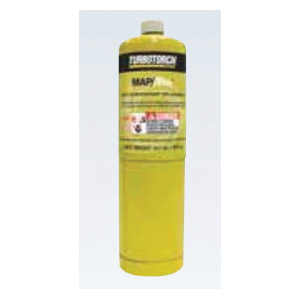 TurboTorch® MAP-Pro™ 0916-0122 MPT-1 MAP-Pro Tank, For Use With TurboTorch Dual Fuel Hand Torches and TT-LP Leak Detector, 14.1 oz MAP/Pro™ Gas