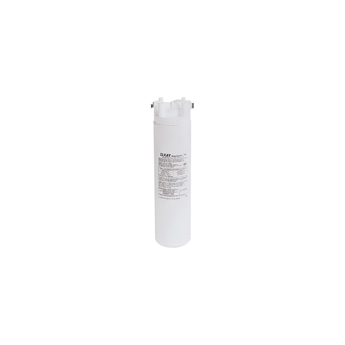 Elkay® EWF172 WaterSentry® Filter Kit, 3-1/4 in L x 3-1/4 in W x 12-1/2 in H, Plastic, Domestic