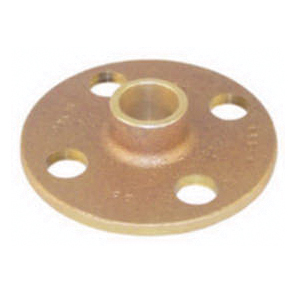 EPC 10035682 4741 Solder Companion Flange, 8 in, Cast Brass, C x C, 125 lb
