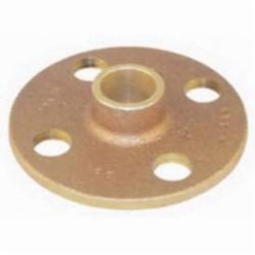 EPC 10056634 4741 Solder Companion Flange, 4 in, Brass, 125 lb, Domestic