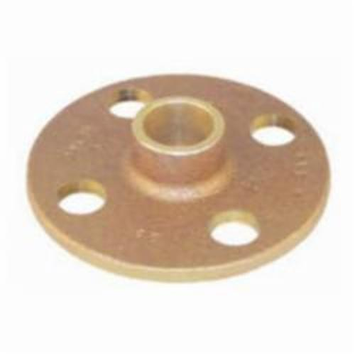 EPC 10056628 4741 Solder Companion Flange, 2 in Nominal, Cast Brass, C x C Connection, 125 lb, Domestic