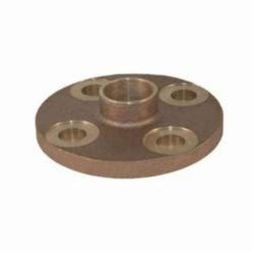 EPC 10056652 4741 Solder Companion Flange, 3 in Nominal, Cast Brass, C x C Connection, 150 lb, Domestic