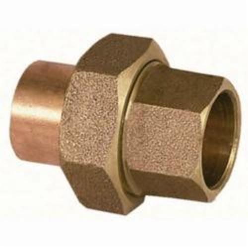 EPC 10056668 4733 Solder Union, 2-1/2 in Nominal, C x C End Style, Brass, Domestic
