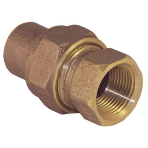 EPC 10056692 4733-3 Solder Union, 2 in Nominal, C x FNPT End Style, Brass, Domestic