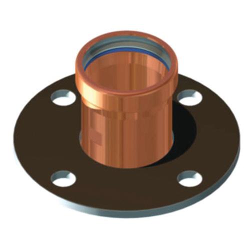 EPC ApolloPRESS® 10061761 8741 Large Diameter Companion Flange, 2-1/2 in, Copper, Press, 125 lb