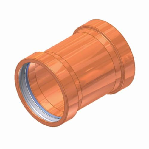 EPC APOLLOXPRESS® 10061932 801 Press Coupling, 2-1/2 in Nominal, C x C End Style, Copper, Domestic
