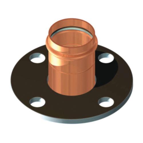 EPC ApolloPRESS® 10075702 8741 Small Diameter Companion Flange, 2 in, Copper, Press, 125 lb