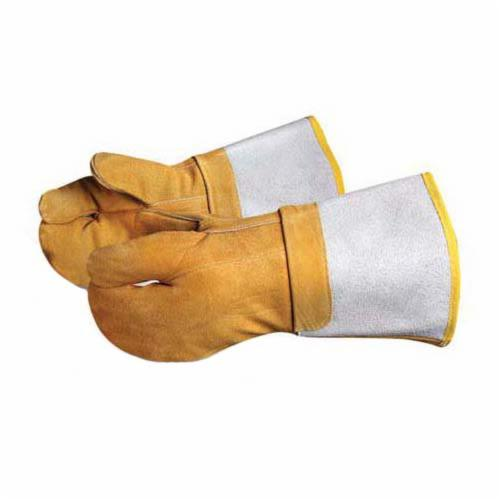 Endura® 399GKGL5XL Driver Cut Resistant Gloves, XL, Goatskin Grain Leather, Gauntlet/Knit Wrist Cuff, Resists: Abrasion, Cut and Puncture, ANSI Cut-Resistance Level: A4, ANSI Puncture-Resistance Level: 4