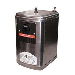EVERPURE® SOLARIA® EV9318-40 Hot Water Dispenser, 5/8 gal Capacity, 6.8 in W x 8.1 in D x 11.2 in H Tank, 3/8 in Water, Powder Coated, Domestic
