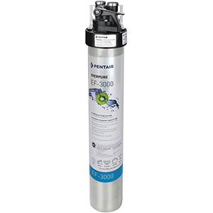 EVERPURE® EV985700 Full Flow Drinking Water System, 10 to 125 psi, 35 to 100 deg F, 2.2 gpm