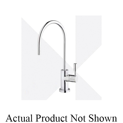 EVERPURE® EV997059 Designer Single Temperature Lead Free Drinking Water Faucet, 0.5 gpm Flow Rate, Brushed Nickel