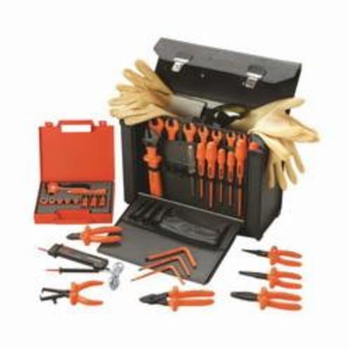 Facom® FC-2185C.VSE VSE Insulated Tool Set, Case Tool Storage, 28 Pieces