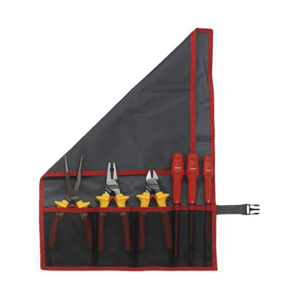 Facom® FC-2187C.VSE VSE Insulated Tool Set, Case Tool Storage, 41 Pieces