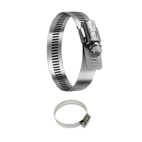 Fernco® 064-300 Band Clamp, 2-5/8 to 4-1/2 in Nominal, 300 Stainless Steel
