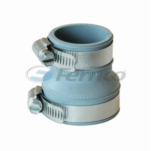 Fernco® DTC-150 Pipe Sleeve Seal, 1-1/2 x 1-1/4 in, PVC, Domestic
