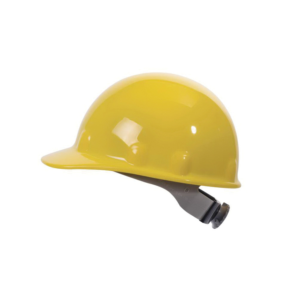 Fibre-Metal® by Honeywell E2RW01A000 E2 Cap Style Hard Hat With 3Rw2 Ratchet Headband, SZ 6-1/2 Fits Mini Hat, SZ 8 Fits Max Hat, Thermoplastic, 8-Point Suspension, ANSI Electrical Class Rating: Class C, E and G, ANSI Impact Rating: Type 1