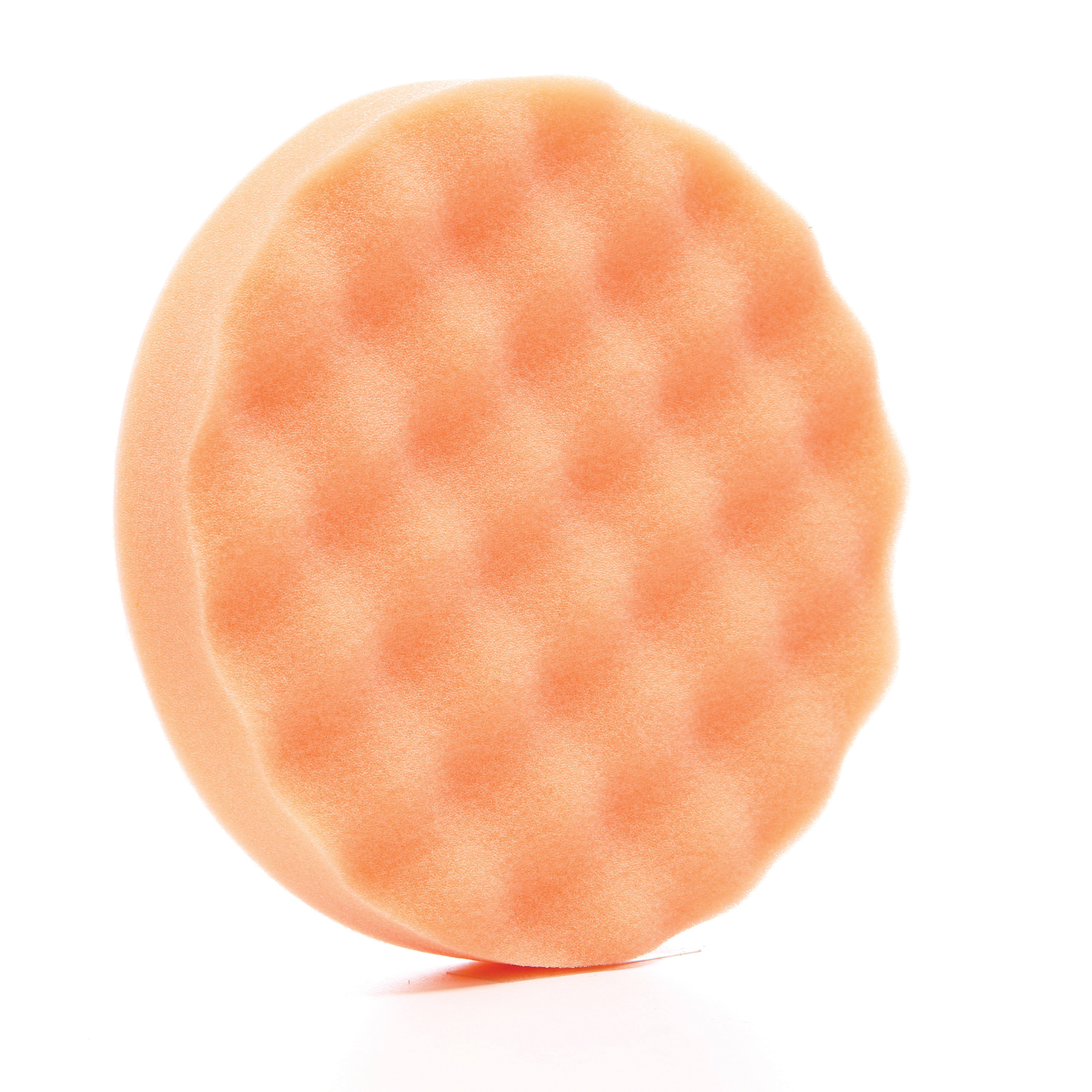 3M™ 048011-18210 Light Duty Round Buffing Pad, 20 in OAD, 1 in THK, 3-3/8 in Center Hole, Non-Woven Natural/Polyester Fiber Pad