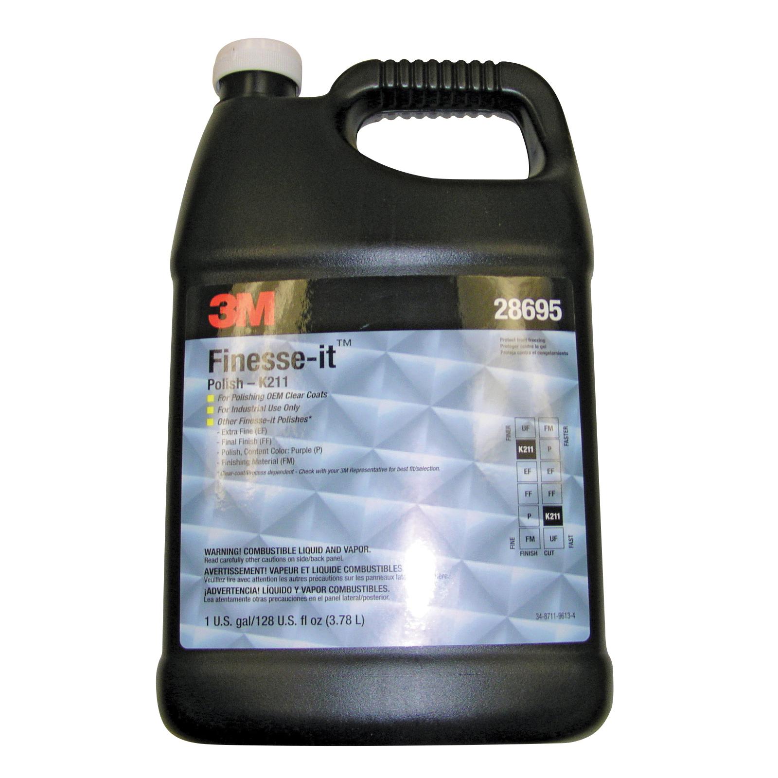Perfect-It™ 051131-36064 Type 1 Polishing and Finishing Material, 1 qt Bottle, Aqua