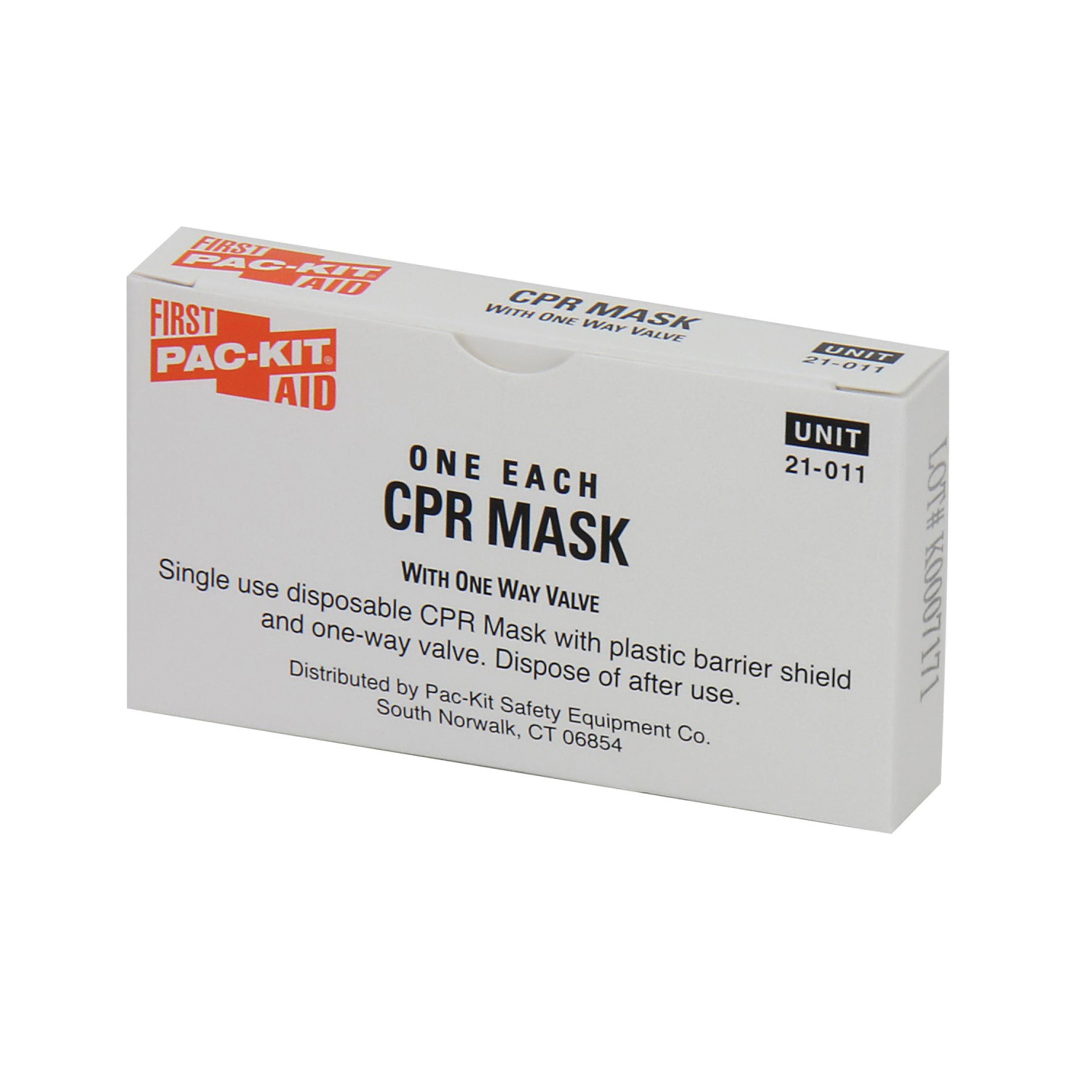 First Aid Only® 21-008 CPR First Aid Pack, 4 Pieces, Box Container