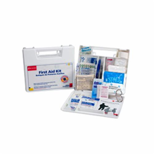 First Aid Only® 220-O Vehicle First Aid Kit, 6.3125 in WD X 2.375 in DP X 9.0625 in HT, 85 Components, Polypropylene