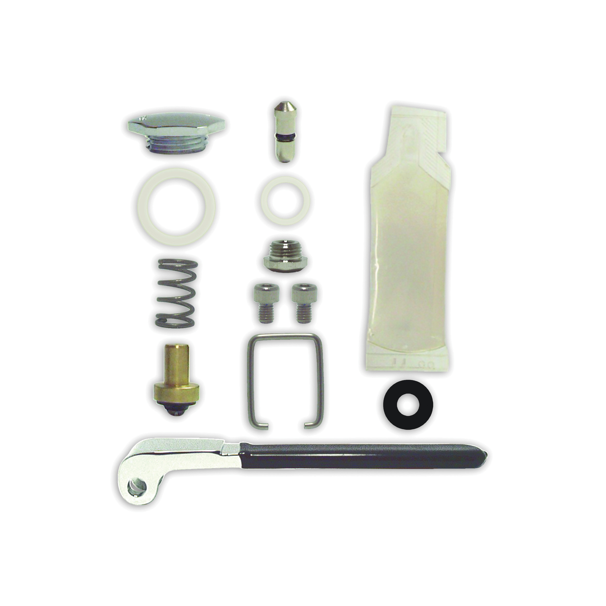 Fisher 11355 Spray Valve Repair Kit, For Use With Model 2949 Pre-Rinse Ultra™ Spray Valve, Brass, Domestic