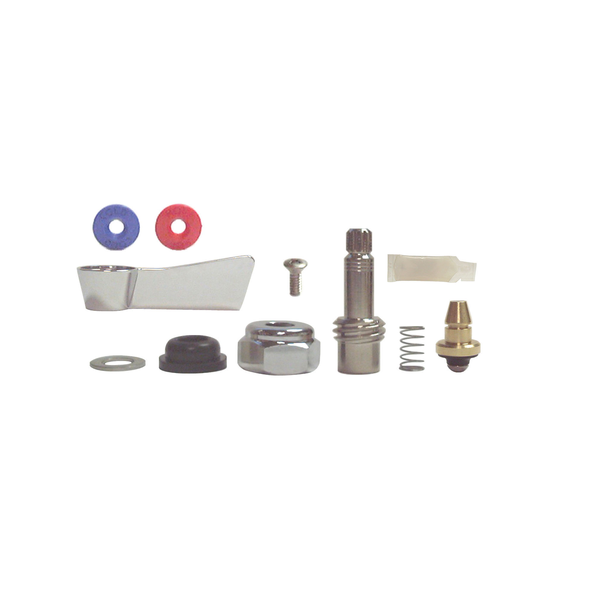 Fisher 3000-0000 Faucet Stem Repair Kit, For Use With Model 64734/64742/64750 8 in Backsplash Kitchen Faucet, Brass, Domestic