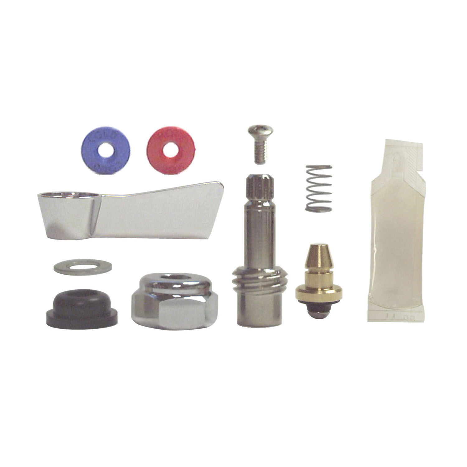 Fisher 54526 Faucet Stem Repair Kit, For Use With Model 53740/53759/53767 4 in Deck Mount Kitchen Faucets, Stainless Steel