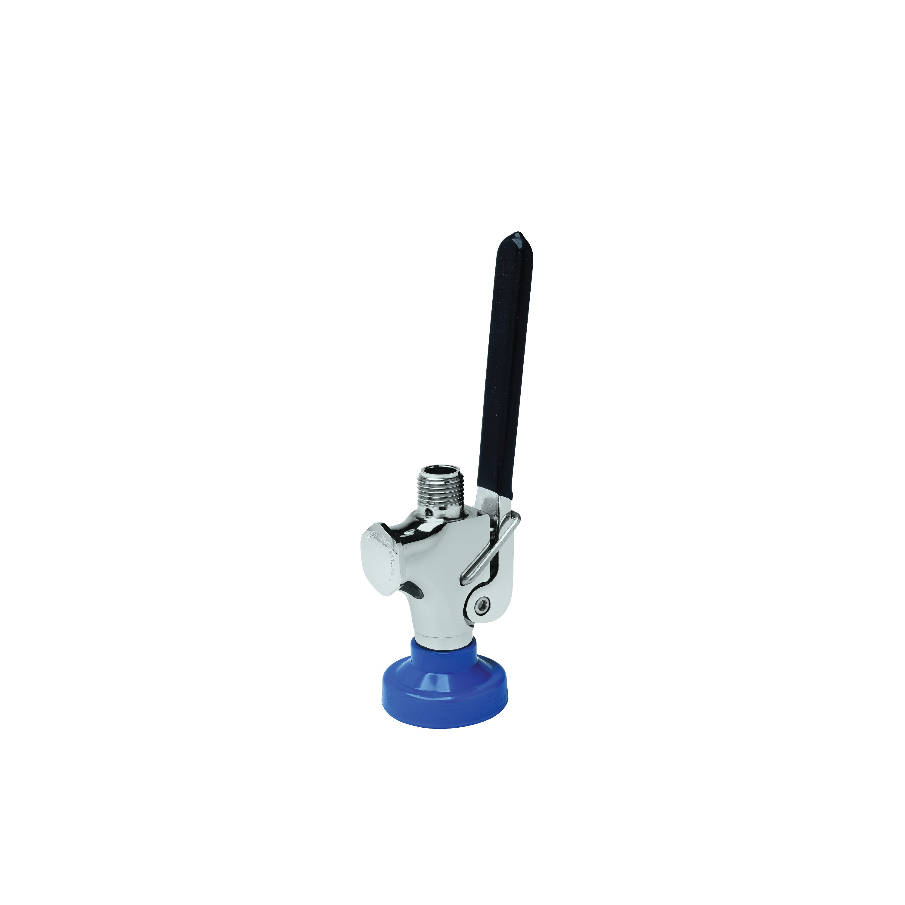 Fisher Ultra™ Spray 71307 Spray Valve, 3/4-14 UNS Nominal, 60 psi Pressure, Stainless Steel Body, Long Squeeze Lever Handle Actuator, Commercial