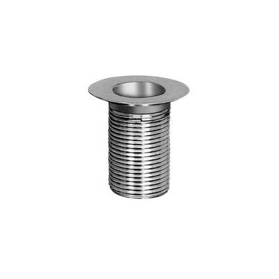 Fisher 6240-2100 Waste Socket, 1 in ID x 2 in OD Dia Pipe, 2 in L, Brass