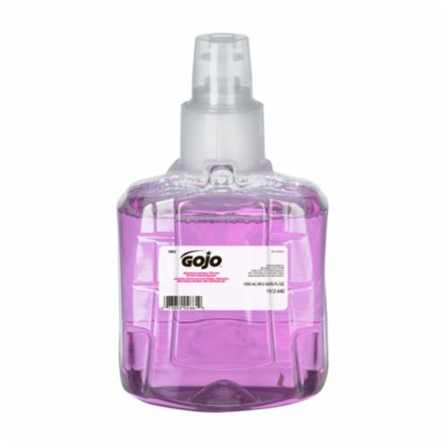 GOJO® 1911-02 LTX-12™ Mild Handwash, 1200 mL, Dispenser Refill, Foam, Fragrance-Free/Soapy, Clear/Colorless to Pale Yellow