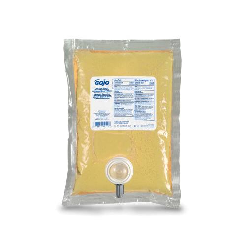 GOJO® 1912-02 LTX-12™ Antibacterial Handwash, 1200 mL Nominal, Dispenser Refill Package, Foam Form, Plum Citrus Odor/Scent, Clear/Purple