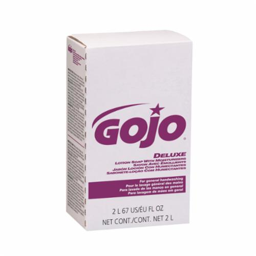 GOJO® 2117-08 Deluxe Lotion Soap, 1000 mL Nominal, Dispenser Refill Package, Lotion Form, Floral Odor/Scent, Opalescent/Pink