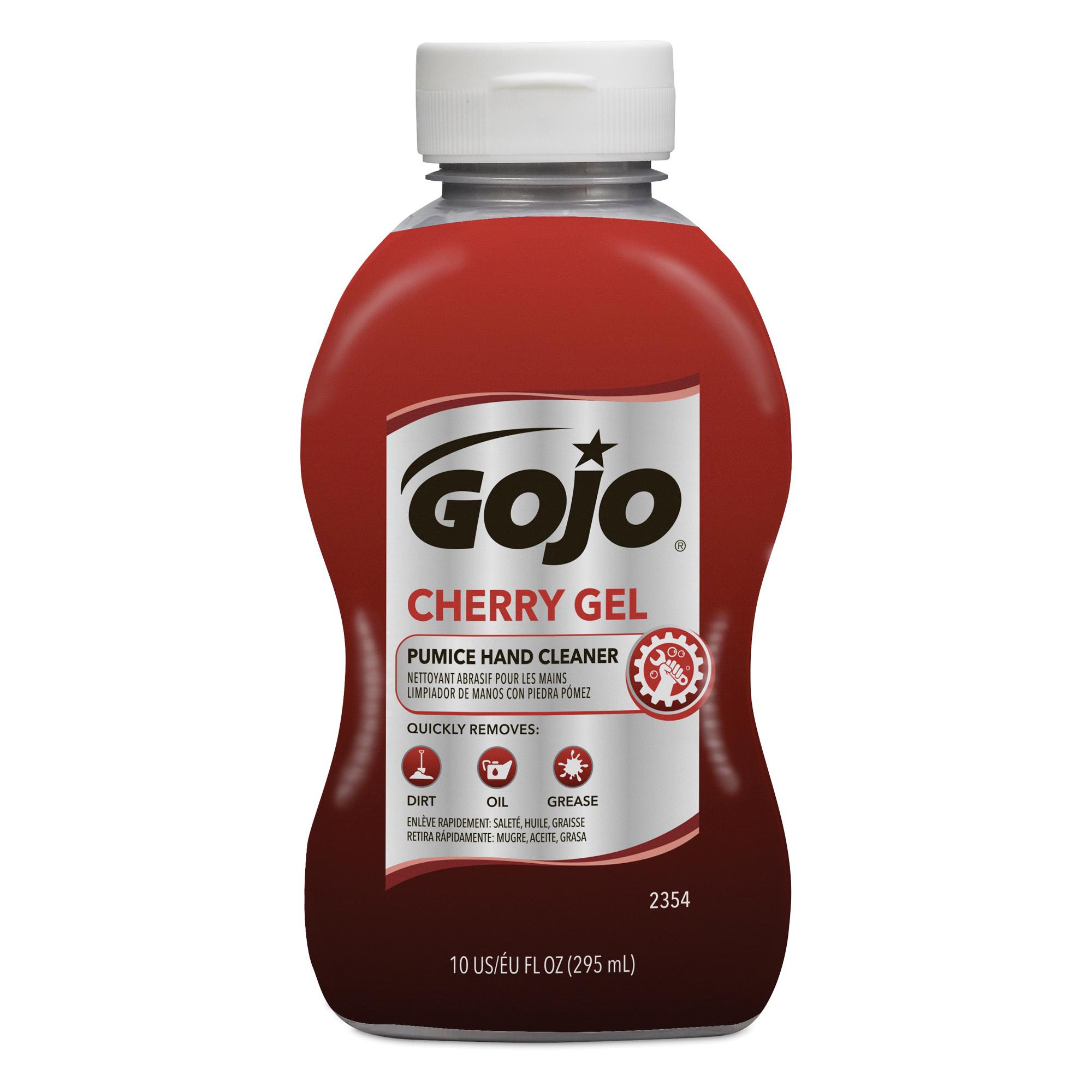 GOJO® 0958-04 NATURAL ORANGE™ Pumice Hand Cleaner, 1/2 gal Nominal, Bottle Package, Lotion Form, Citrus Odor/Scent, Orange