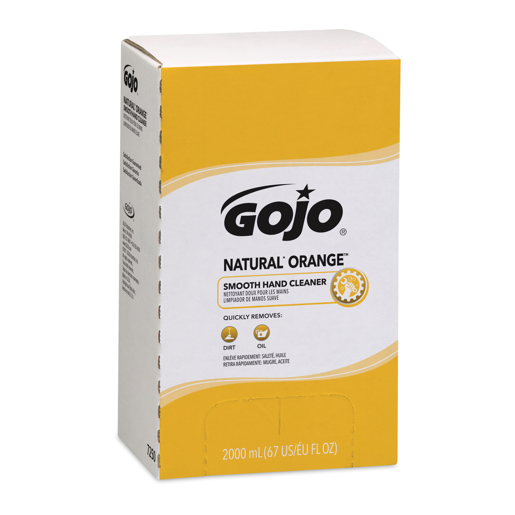 GOJO® 5665-02 TFX™ Hand Cleaner, 1200 mL Nominal, Dispenser Refill Package, Foam Form, Dye Free/Odorless Odor/Scent, Clear/Colorless to Pale Yellow