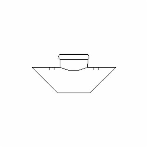 GPK Products 136-0064 Saddle Tee With Strap, 6 x 6 x 4 in, Gasketed, SDR 35, PVC