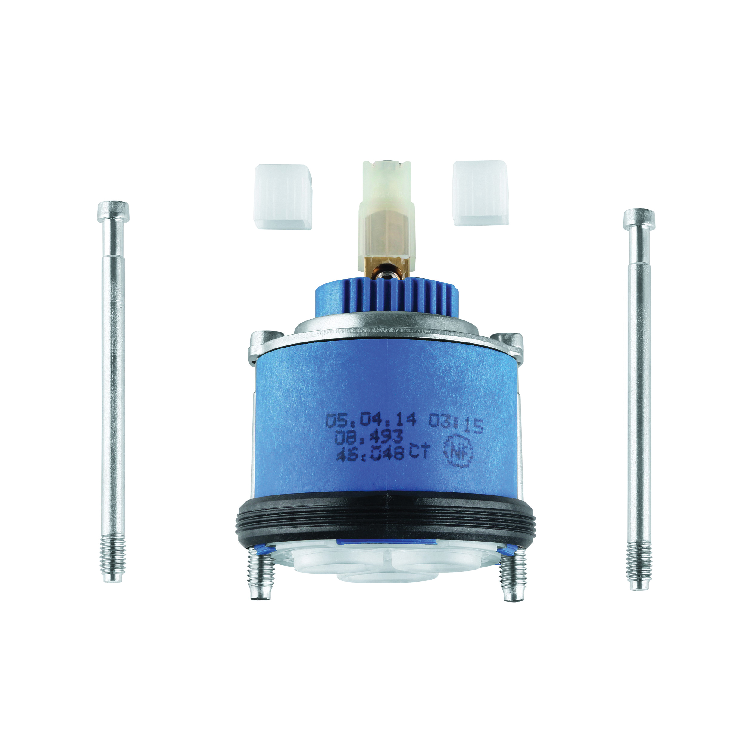 GROHE 46048000 Universal Cartridge, For Use With Single Lever Mixer, 46 mm Dia, Import