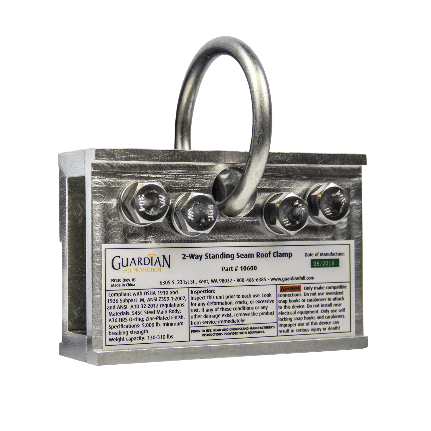 GUARDIAN FALL PROTECTION10600