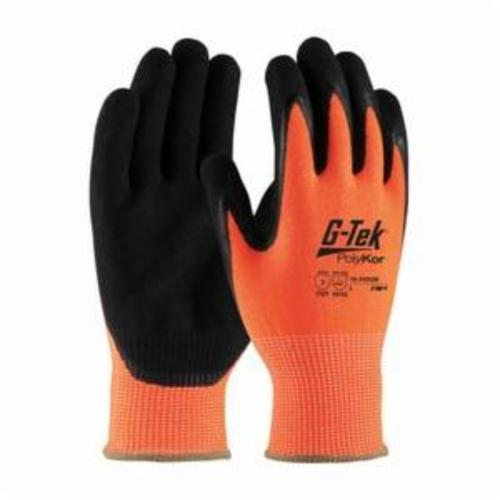G-Tek® 16-150/M Unisex Cut Resistant Gloves, M, Polyurethane Coating, PolyKor™, Continuous Knit Wrist Cuff, Resists: Abrasion, Chemical, Cut, Puncture, Tear, UV and Water, ANSI Cut-Resistance Level: A2