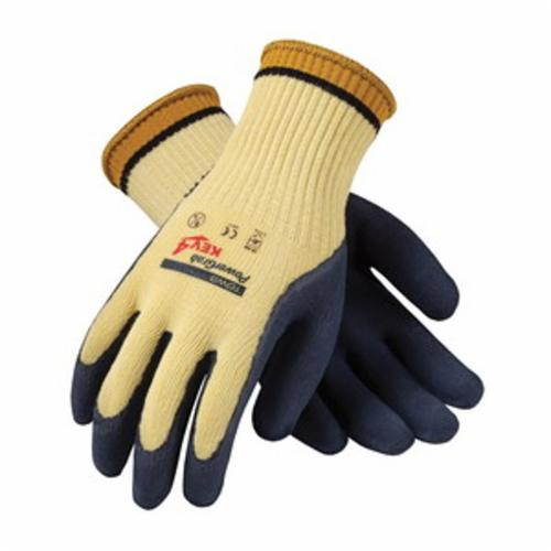 G-Tek® CR 09-K1400/XL Medium Weight Unisex Cut Resistant Gloves, XL, Nitrile Coating, DuPont™ Kevlar® Fiber, Elastic Knit Wrist Cuff, Resists: Abrasion, Cut, Puncture and Tear, ANSI Cut-Resistance Level: A2