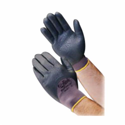 G-Tek® 09-K300LP/M Cut Resistant Gloves, M, Bright Coating, Cowhide Leather/Kevlar®, Knit Wrist Cuff, Resists: Abrasion, Cut and Puncture