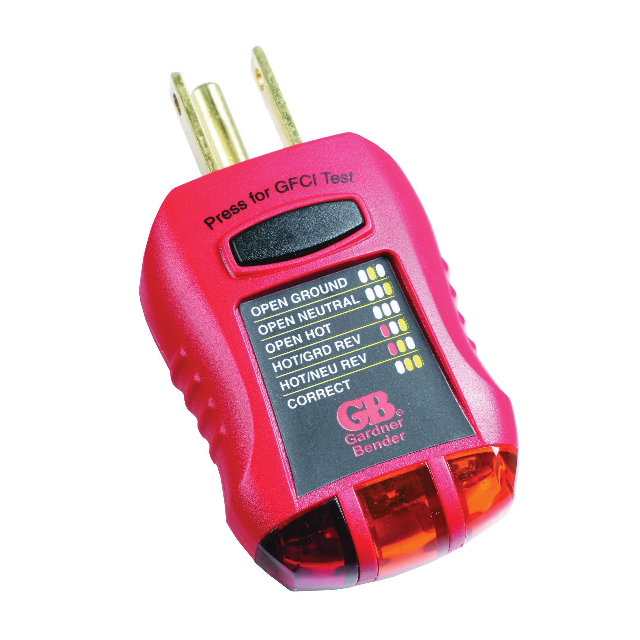Amprobe® BAT-200 Battery Tester, 9 VDC/AA/AAA/C/D/1.5 VDC Button