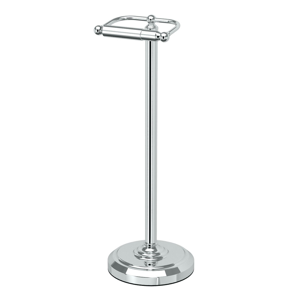 Gatco® 1436C Tissue Holder Stand, 22 in H, Polished Chrome, Domestic