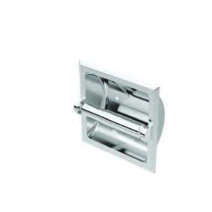 Gatco® 782 Recessed Tissue Holder, 6-1/4 in H, Polished Chrome, Domestic