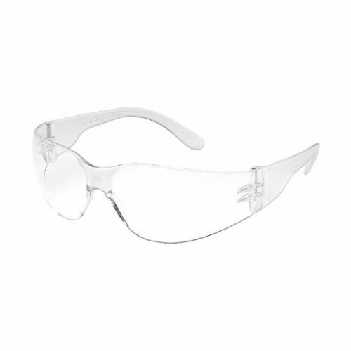 Gateway Safety® 21GB79 Swap Protective Eyewear, Clear fX2 Anti-Fog Lens, Black Frame, 99.9 % UV Protection