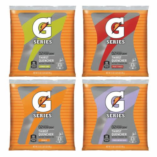 Gatorade® 03808 Instant Sports Drink Mix, 8.5 oz, 1 gal Yield, Powder Form, Fruit Punch