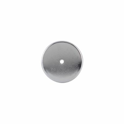 GENERAL® 374C Pot Magnet, 1-1/16 in Dia, 1-3/16 in W, 1-5/32 in THK