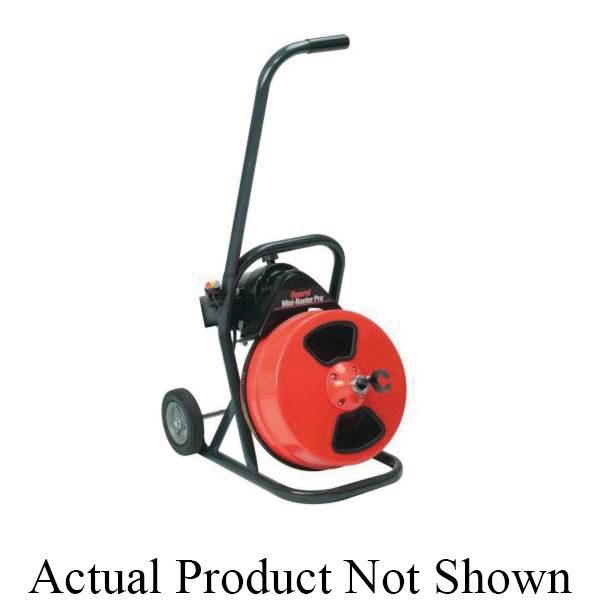 General Pipe Cleaners Mini-Rooter Pro® MRP-B Drain Cleaning Machine Unit, 1/3 hp