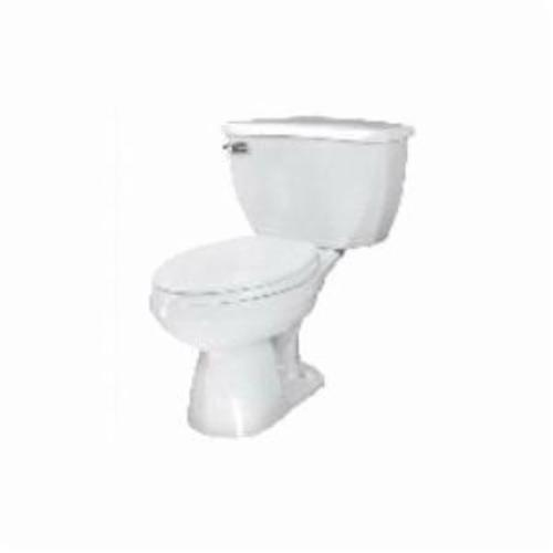 Gerber® 21-372 Toilet Bowl, White, Elongated, 12 in Rough-In, 3 in Trapway