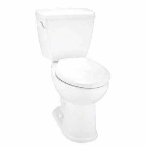 Gerber® Avalanche™ AV-21-828 Toilet Bowl, White, Elongated, 12 in Rough-In, 6-1/2 in H Rim, 2 in Trapway